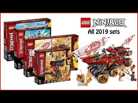 COMPILATION LEGO All Ninjago 2019 Sets Speed Build