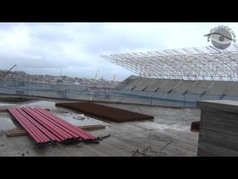 Por dentro da obras da Arena Corinthians em 26/01/2013