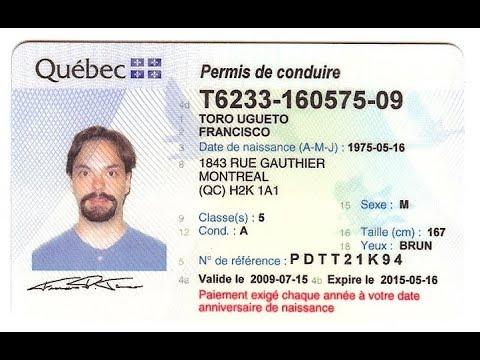 Канада 1601: Получить водительское удостоверение на коробку автомат или механику