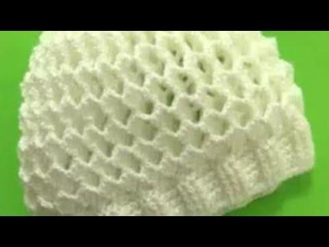طاقية كروشية بغرزة 3D / قناة كروشيه يوتيوب  #كروشيه_يوتيوب