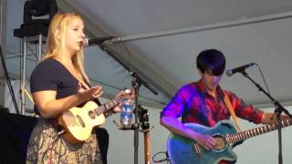 Julia Nunes - Comatose + First Impressions (LIVE Common Ground Fest Lansing) [07/11/12]