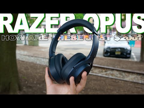 External Review Video 3tgp3BgAqeA for Razer Opus Wireless Headphones with THX Certification & Active Noise Cancellation