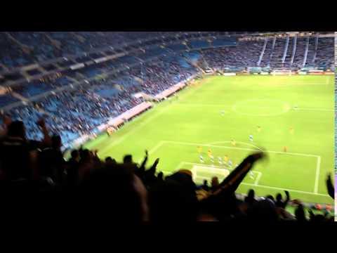 """""""Delirio de la hinchada Canalla en Porto Alegre (Brasil)"""" Barra: Los Guerreros • Club: Rosario Central • País: Argentina"""