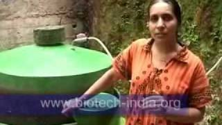 BIOTECH INDIA domestic portable Biogas plant - www.biotech-india.org