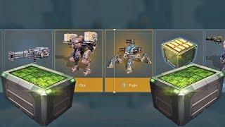 War Robots Black Market - Opening Silver Chests (7000 Keys)