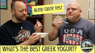What's the Best Tasting Greek Yogurt? Blind Taste Test | Ranking
