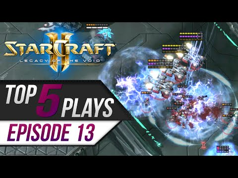 Download StarCraft 2: TOP 5 Plays - Episode 13 HD Mp4 3GP Video and MP3