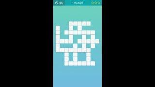 حل لعبة كلمات متقاطعة المجموعة الثامنة عشر لغز رقم 156 123vid