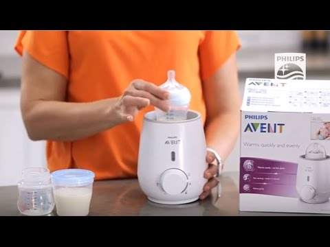 How does the AVENT bottle and food Warmer work | Philips | SCF255