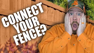 How To Connect Your Fence to Your House