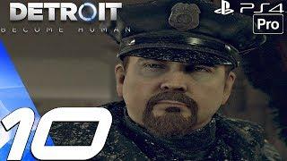 Detroit Become Human - Gameplay Walkthrough Part 10 - Public Enemy & Midnight Train (PS4 PRO)