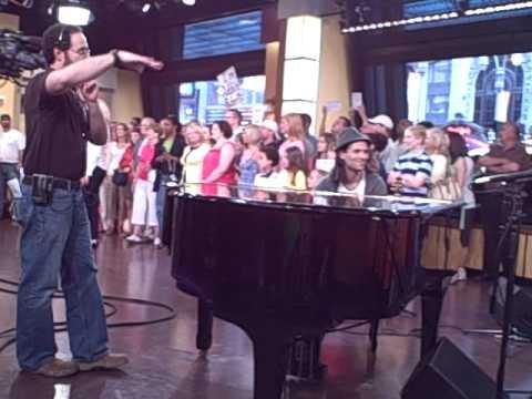 PS22 Chorus - Good Morning America - Lady GaGa's Just Dance  Behind The Scenes..