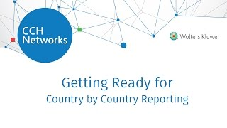 Getting Ready for Country by Country Reporting (CbC)