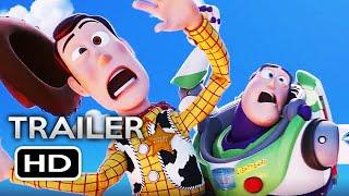 TOY STORY 4 Official Trailer (2019) Tom Hanks, Tim Allen Disney Pixar Animated Movie HD