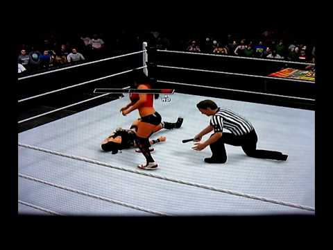 WWE 2K15 : AJ LEE VS NIKKI BELLA