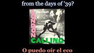 The Clash - Spanish Bombs - Lyrics / Subtitulos En Español (NWOBHM) Traducida