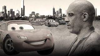 Como seria se 'Velozes e Furiosos 7' fosse feito pela Pixar Filmes