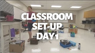 CLASSROOM SET-UP | Day 1