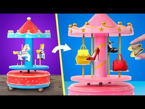 Миниатюрные аксессуары для Барби – 15 идей