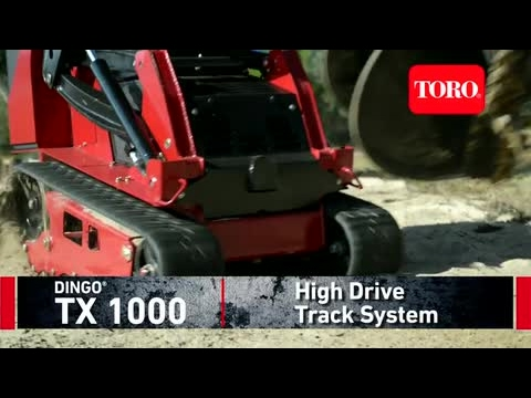 Dingo TX 1000 High Drive Track System