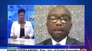 Port Charges - News Desk on Joy News (19-3-18)