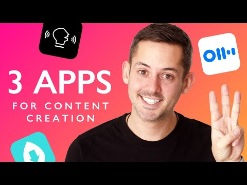 3 Free Apps For Content Creation | Phil Pallen