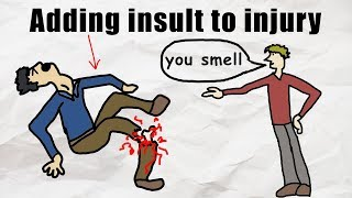 Drawing Idioms.... Badly