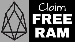 Claim Your Free EOS RAM
