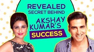 What's The SECRET of Akshay Kumar's Constant SUCCESS? Akshay Responds | Kesari | Parineeti Chopra