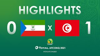 Élim. CAN 2021 : Guinée Equat. 0-1 Tunisie