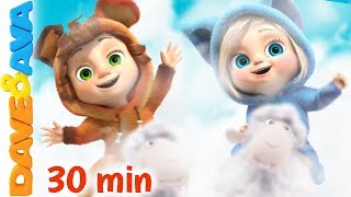 🔔Top 10 Nursery Rhymes and Kids Songs   Baby Songs by Dave and Ava 🔔