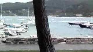 preview picture of video 'Mareggiata nel canale... Portovenere (SP)'
