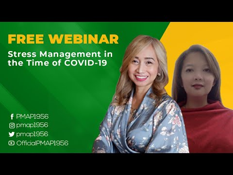 FREE Webinar: Stress Management in the Time of COVID-19 ...