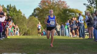 RHS Girls Cross Country Team Takes Second at State