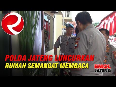 Polda Jawa Tengah Luncurkan Program Rumah Semangat Membaca
