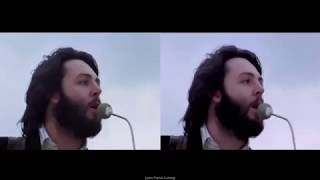 THEBEATLES~GETBACK~RooftopPerformance69SplitScreen[HQ]