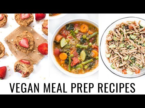 Video 5. VEGAN MEAL PREP | quick & healthy recipes