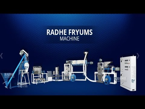 Fryums Making Machine