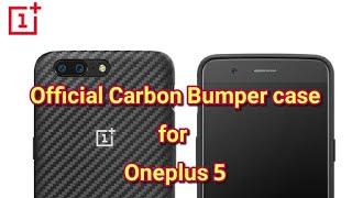 Oneplus 5: Original Carbon Bumper Case