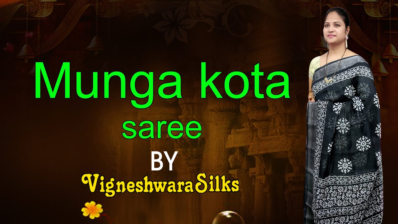 "<p style=""color: red"">Video : </p>Munga kota saree   