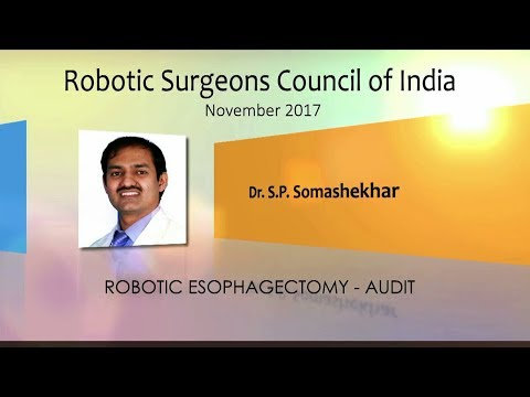 Robotic Esophagectomy - Audit