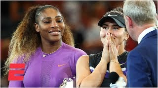 Serena Williams and Bianca Andreescu address the crowd after Women's Final | 2019 US Open Interviews
