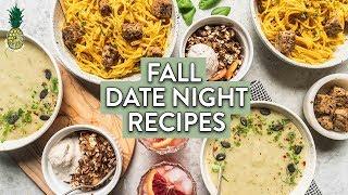 Perfect Fall Date Night Dinner Menu (Vegan & Gluten-free)