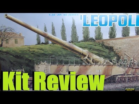 "Kit review: Dragon 28cm K5 (E) ""Leopold"" in 1/35 scale"