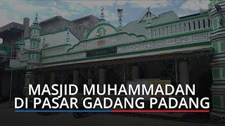 Masjid Muhammadan Dijuluki Masjid Dakwah Publik Sumbar, Jamaah yang Datang Ada dari Luar Negeri