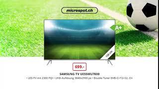 TV Werbespots zur Fussball Weltmeisterschaft