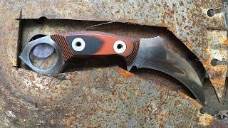 Making Karambit From Concrete Saw Blade Part 1