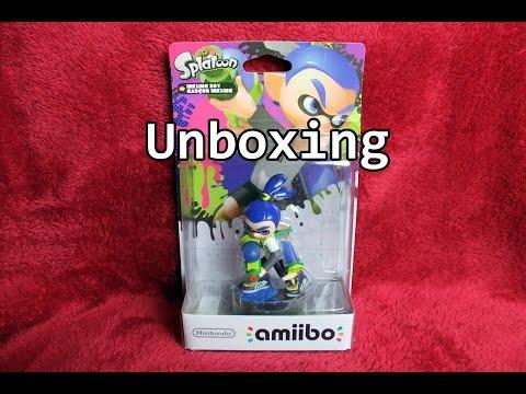 Amiibo Inkling Junge Splatoon Unboxing - Deutsch