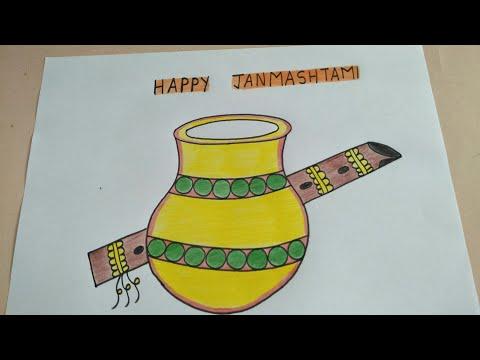Krishna Makhan Matki Decoration Pot Decoration Ideas Janmashtami