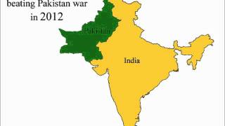 NEW MAP OF INDIA AND PAKISTAN IN 2012 - A MUST SEE VIDEO THE TRUTH